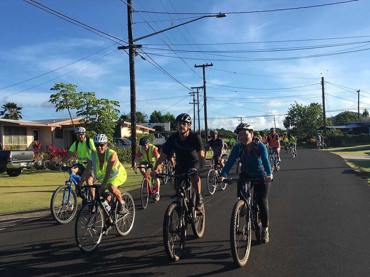 Bike to Work Day Kauai