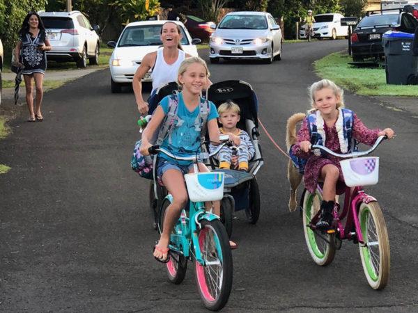 Kilauea Bike to School